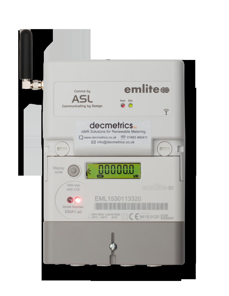 Emlite Ema1 Single Phase Gprs Smart Meter  Sim Bundle
