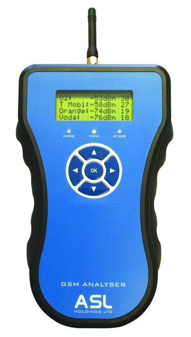 Aslh355 2g  3g Gsm Signal Analyser