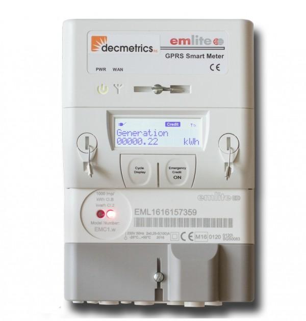 Diagram Emlite Twin Element Electric Meter Uk