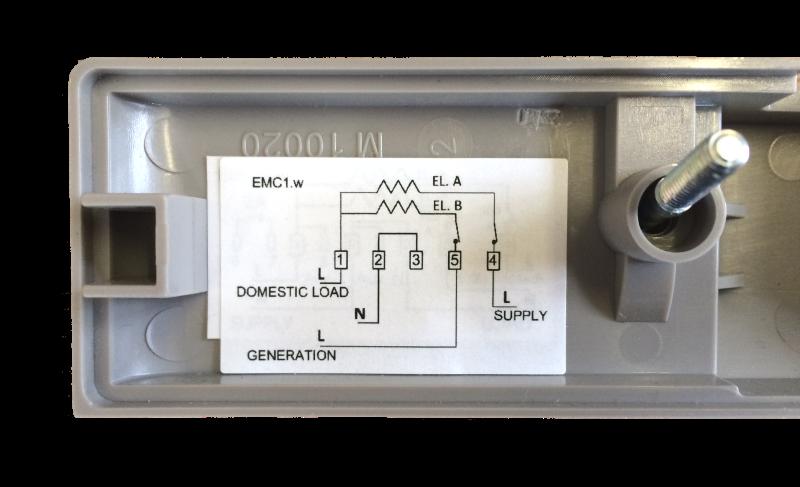Emlite Twin Element Electric Meter Uk